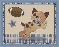 Bow Wow Football Dog
