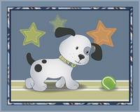 Bow Wow Tennis Dog