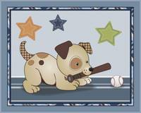 Bow Wow Baseball Dog