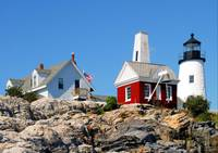 Pemaquid on the Rocks