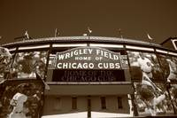 Chicago - Wrigley Field 2010 #4 Sepia