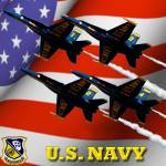 """U.S. Navy Blue Angels"" by EdmondHogge"
