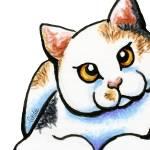 """Calico Cutie"" by OffLeashArt"