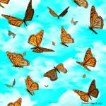 """Monarch Invasion"" by EdmondHogge"