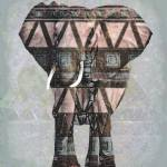 """Aztec Elephant"" by LJdesigns"