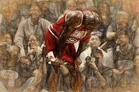 MICHAEL JORDAN - THE FLU GAME