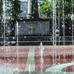"""Atlanta Olympic Park Fountain"" by GinetteCallaway"