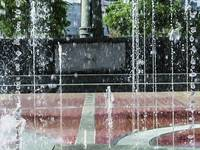 Atlanta Olympic Park Fountain