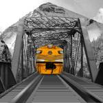 """""""Mountain Train"""" by ecolosimo"""