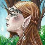 """The Elven Beauty"" by TASillustrations"