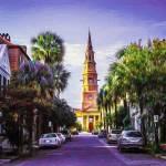 """Charleston South Carolina St Philips Church"" by GinetteCallaway"