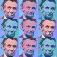Abe Lincoln Smiles Repeat 2