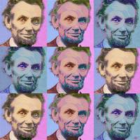 Abe Lincoln Smiles Repeat 1
