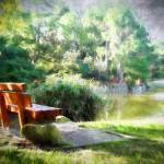 """""""Morikami Gardens Resting Place"""" by GinetteCallaway"""