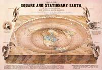 Flat Earth map drawn by Orlando Ferguson in 1893