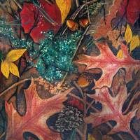 Forest Floor Art Prints & Posters by Eileen Blair