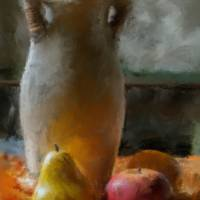 Fruit and Vase Art Prints & Posters by D. Brent Walton