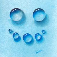 Smiley Water Drops Art Prints & Posters by OY Tai