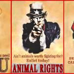 """Animal Rights Poster"" by Isacat"