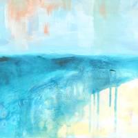 coastal blues 2 Art Prints & Posters by Jan Weiss