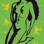 """Nude Pop Art Paper Cut Poster"" by visualharbour"