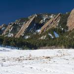 """Chautauqua Park Boulder Colorado Winter View"" by lightningman"