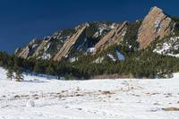 Chautauqua Park Boulder Colorado Winter View