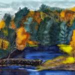 """""""Autumn River"""" by LJdesigns"""
