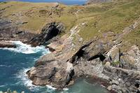 Tintagel Haven, Rugged Coast, Cornwall, England