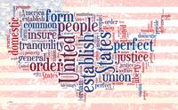 US Word Cloud Map - Preamble