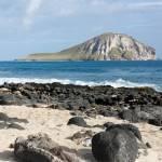 """Hawaiian volcanic beach"" by SueLeonard"