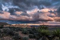 Gathering Storm over the Desert