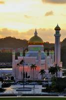 Sunset On The Mosque