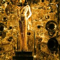 Bergdorf Goodman's XMAS Window  - Music - 2014 - M Art Prints & Posters by Madeline Ellis