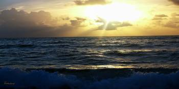 Sunrise Seascape Treasure Coast Florida C5