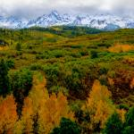 """Autumn in the Colorado Rockies"" by kinnikinnickarts"