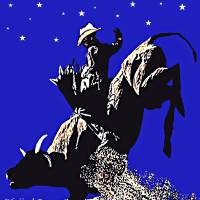 Bull Rider Art Prints & Posters by Dave Gafford