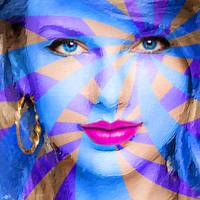 Taylor Swift Blue Square