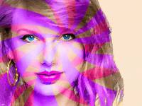 Taylor Swift Pink Horizontal
