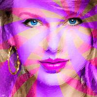 Taylor Swift Pink Square