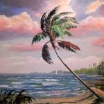 """Tropical Private Beach"" by mazz"