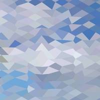 Grey Ocean Wave Abstract Low Polygon Background