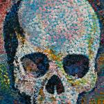 """Pointillism Skull"" by creese"