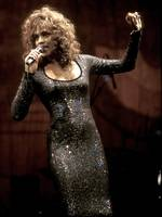 Singer Whitney Houston