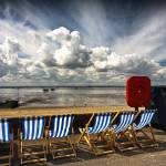 """Deckchairs at Southend on Sea"" by SheilaSmart"