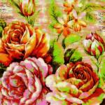 """""""Bright posterized flowers"""" by lizmix"""
