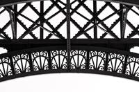 Eiffel Tower Detail in Paris 2