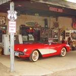 """Route 66 Corvette"" by Ffooter"