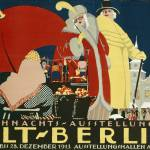 """German advertisement for a Christmas fair in Berli"" by fineartmasters"