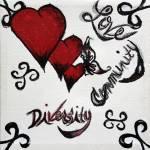 """Diversity and Love by Barbara Torok"" by Lamp_ArtProject"
